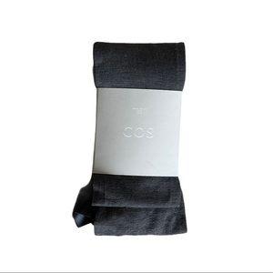 COS Wool Tights Grey Medium